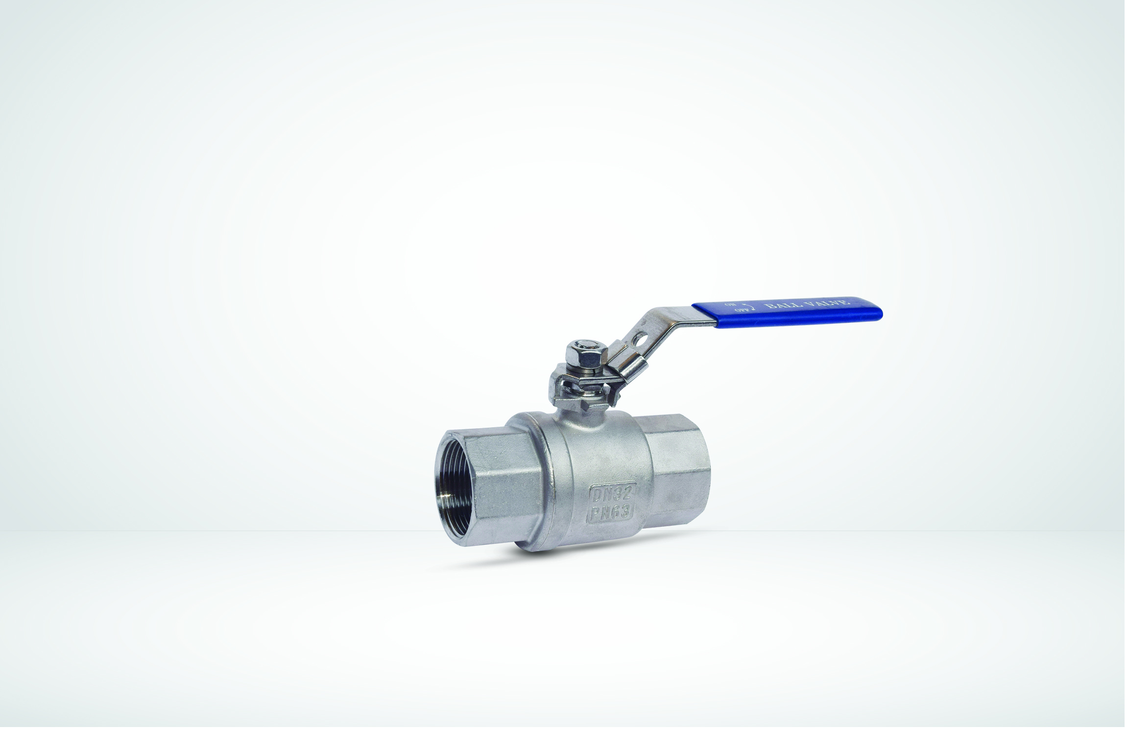 2 Pcs Stainless Steel Ball Valve