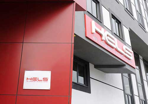Hels moved to new factory building.
