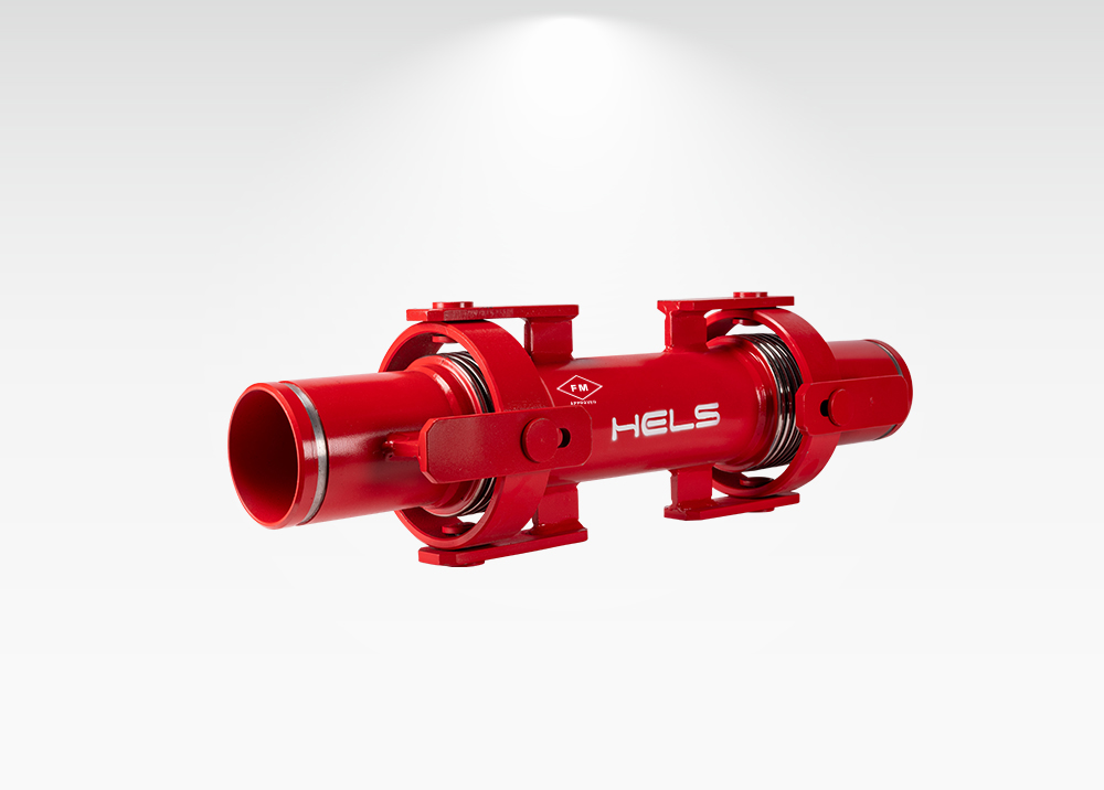 HLS KMY FM Approved Gimbal Expansion Joint Grooved